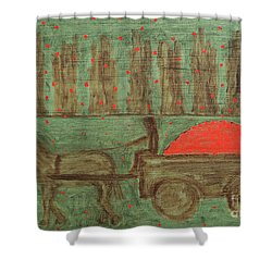 Orchard Shower Curtain by Patrick J Murphy