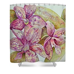 Orchid Envy Shower Curtain