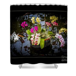 Shower Curtain featuring the photograph Orchid Island by Darleen Stry
