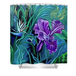 Orchid Jungle Shower Curtain