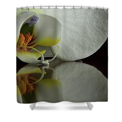Orchid Reflected Shower Curtain