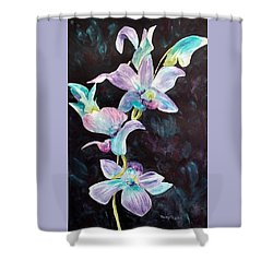 Orchids Alive Shower Curtain
