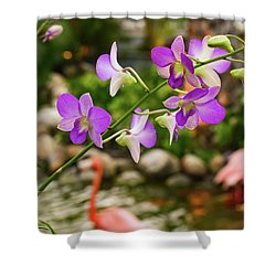 Orchids In Paradise Shower Curtain
