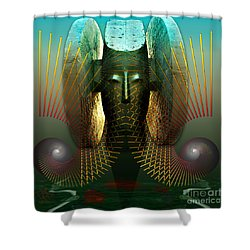 Order And Serenity Shower Curtain