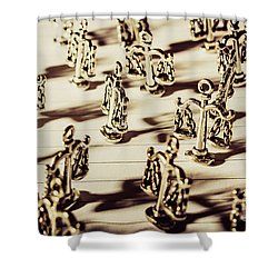 Shower Curtain featuring the photograph Order Of Law And Justice by Jorgo Photography - Wall Art Gallery