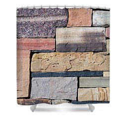 Order Of The Stone Shower Curtain