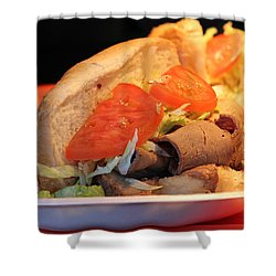 Order Up Shower Curtain