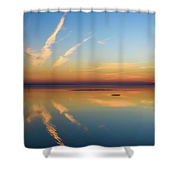 Or'dinaire Shower Curtain by Thierry Bouriat