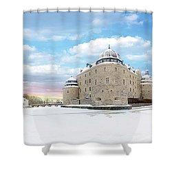 Orebro Castle Shower Curtain