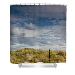 Oregon Clouds Shower Curtain