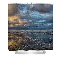 Oregon Coast Reflections Shower Curtain