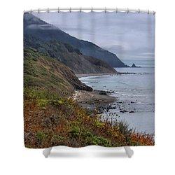 Oregon Coastal Vista Shower Curtain