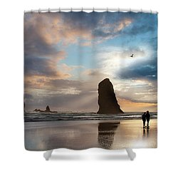 Oregon Coastine Shower Curtain