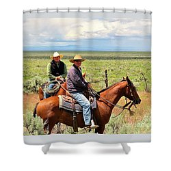 Oregon Cowboys Shower Curtain by Michele Penner