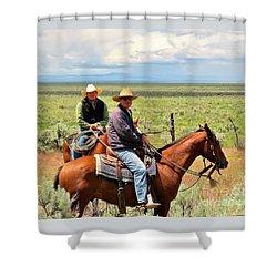 Oregon Cowboys Shower Curtain