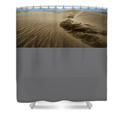 Shower Curtain featuring the photograph Oregon Dune Wasteland 1 by Ryan Manuel