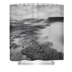 Shower Curtain featuring the photograph Oregon Dune Wasteland 2 by Ryan Manuel