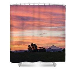 Oregon Sunrise Shower Curtain