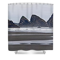 Oregon Tide Shower Curtain