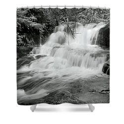 Shower Curtain featuring the photograph Oregon Waterfall by Tyra OBryant