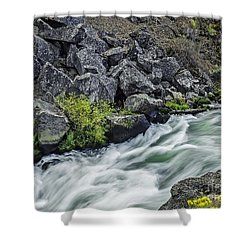 Oregon's Dillon Falls Shower Curtain