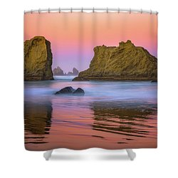 Oregon's New Day Shower Curtain by Darren White