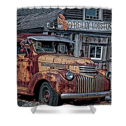 O'reilly Lobster Pound Shower Curtain
