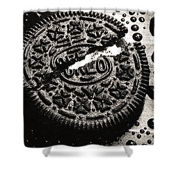 Oreo Cookie Shower Curtain by Nancy Mueller
