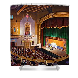 Organ Club - Jefferson Shower Curtain