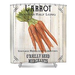 Organic Seed Packet 2 Shower Curtain by Debbie DeWitt