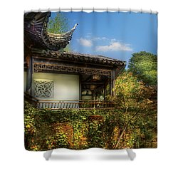 Orient - A Place To Pray  Shower Curtain by Mike Savad