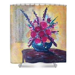 Oriental Arrangement Shower Curtain