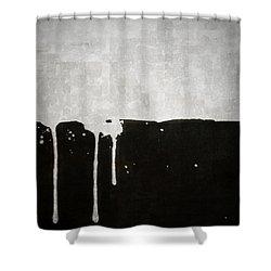 Origin Shower Curtain by Brett Pfister