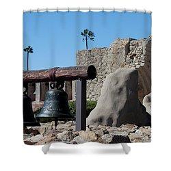 Original Bell Tower Shower Curtain