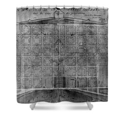 Original French Quarter Map Shower Curtain