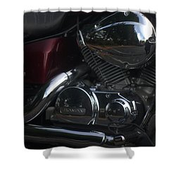 Original Motorcycle File Shower Curtain