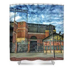 Oriole Park At Camden Yards Gate Shower Curtain