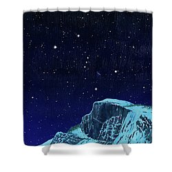 Orion Over Yosemite Shower Curtain