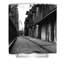 Orleans Alley Shower Curtain