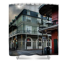 Orleans And Bourbon Shower Curtain