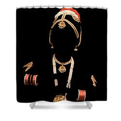 Ornamented Shower Curtain