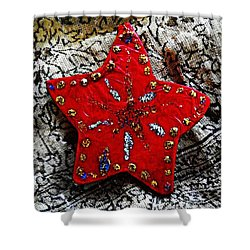 Ornaments 15 Shower Curtain by Sarah Loft