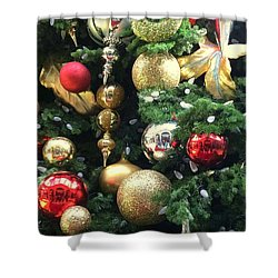Ornaments Shower Curtain