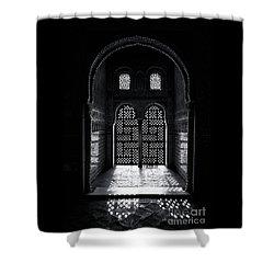 Ornate Alhambra Window Shower Curtain