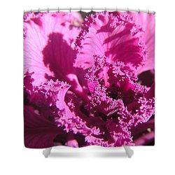 Ornate Kale Shower Curtain