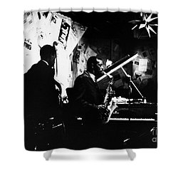 Ornette Coleman (1930-) Shower Curtain by Granger