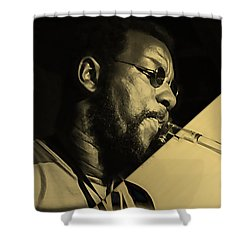 Ornette Coleman Collection Shower Curtain by Marvin Blaine