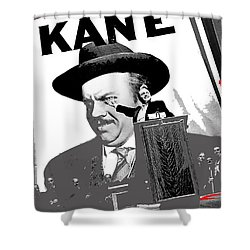 Orson Welles As Charles Foster Kane Citizen Kane 1941-2008 Shower Curtain