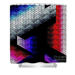 Orthogon Disco Shower Curtain