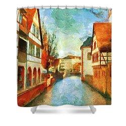 Ortschaft Shower Curtain